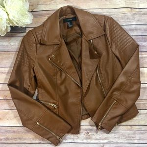 Forever 21 | Faux Leather Jacket